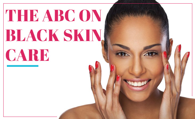 The ABC on Black Skin Care
