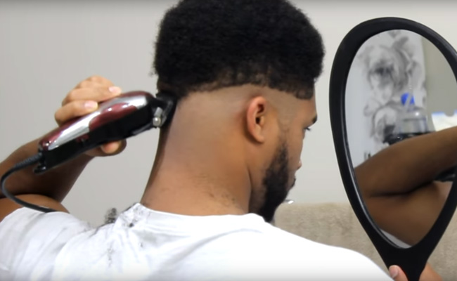 How To Cut Your Own Hair For Black Men Sugar Fluff