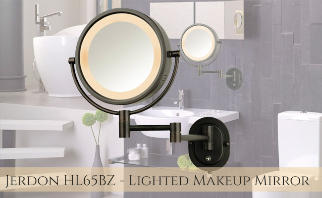 Jerdon HL65BZ Lighted Makeup Mirror Review