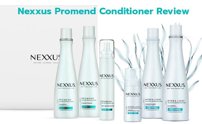 Nexxus Promend Conditioner Review