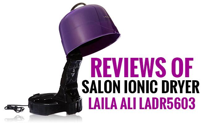 Review of the Laila Ali LADR5603 Salon Ionic Dryer