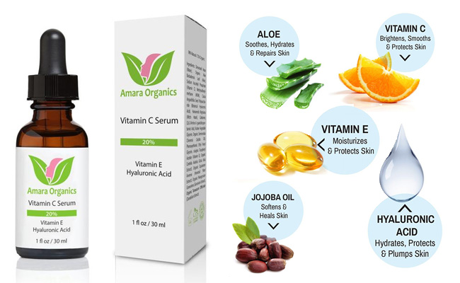 Amara Organics Vitamin C Serum Review