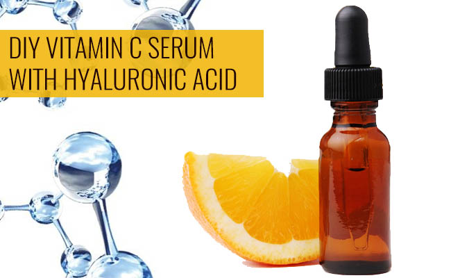 DIY Vitamin C Serum with Hyaluronic Acid