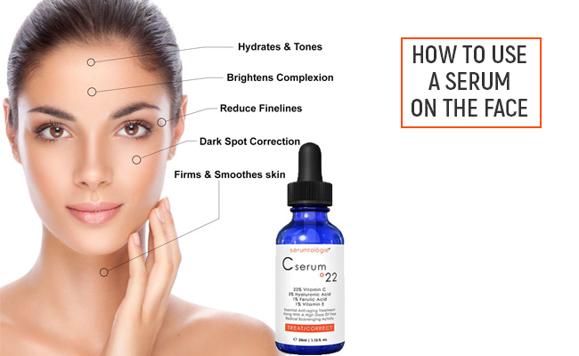 How to Use a Serum on the Face
