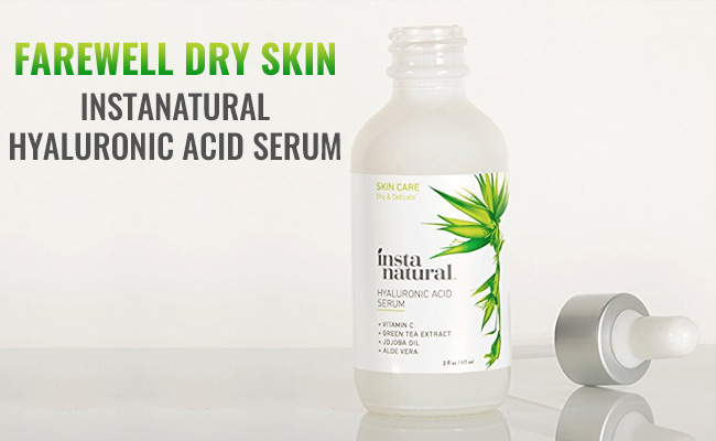 InstaNatural Hyaluronic Acid Serum Review