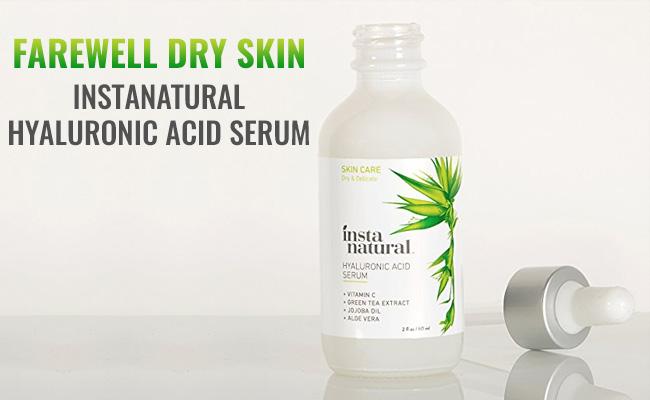 InstaNatural Hyaluronic Acid Serum Review