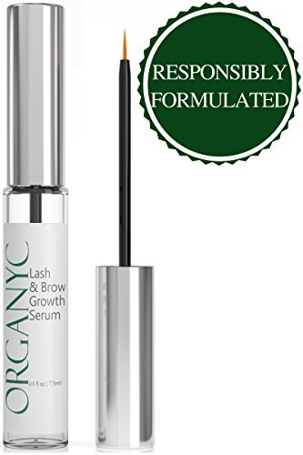 Organys Lash & Brow Booster Serum by Eye Glitter&Shimmer Makeup review