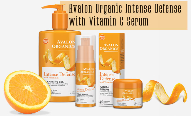 Avalon Organic Intense Defense with Vitamin C Serum Review