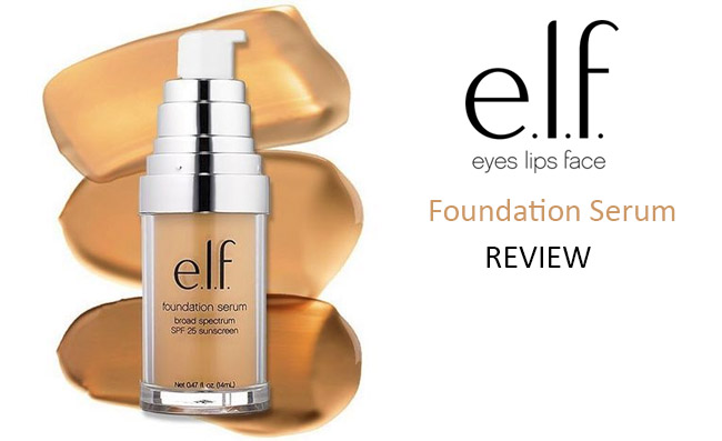 Elf Foundation Serum Review