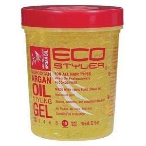 Eco Styler Moroccan Argan Oil Styling Gel.