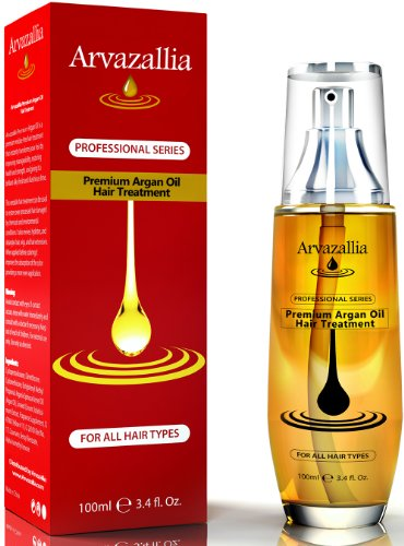 <em>A</em>rgan Oil for Hair Treatment by Arvazallia Leave in Treatment & Conditioner