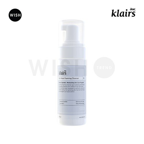 Klairs Rich Moist Foaming Cleansing