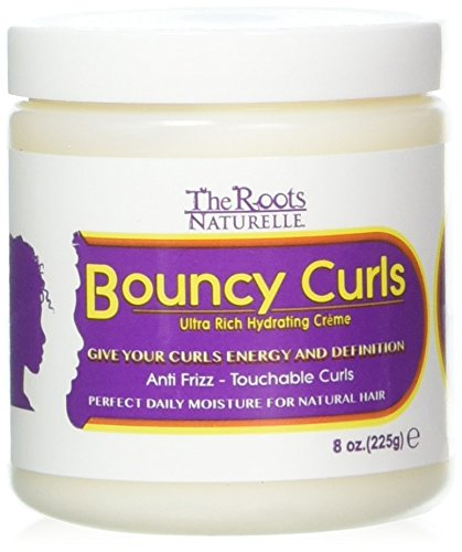 Roots Naturelle Curly Hair Products Bouncy Curls hydrates