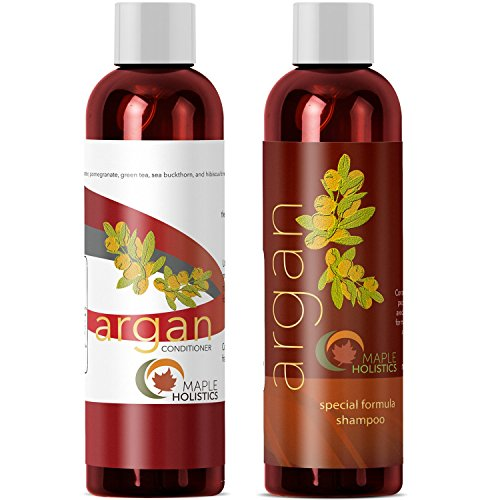 Argan Oil Shampoo and Hair Conditioner Set is
