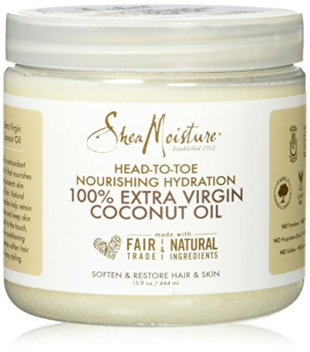 SheaMoisture 15 oz. 100% Extra Virgin Coconut Oil