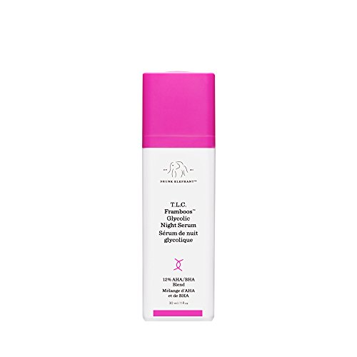 T.L.C. Framboos Glycolic Night Serum by Drunk Elephant review