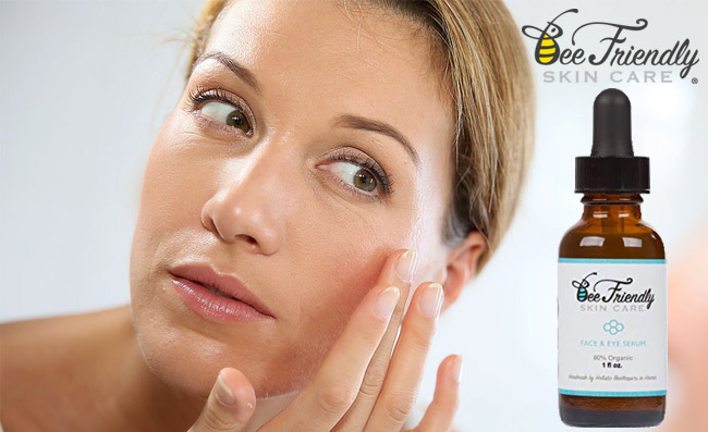 Anti-Aging Face and Eye serum from BeeFriendly Review