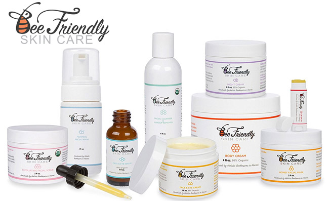 BeeFriendly Face and Eye Cream Moisturizer Review