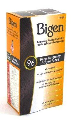 Bigen Permanent Powder Hair Color, Deep Burgundy review