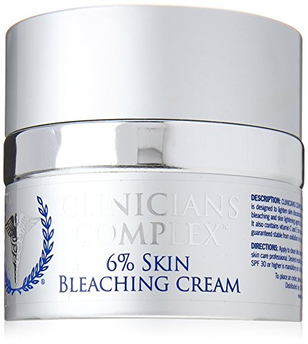 Clinicians Complex 6% Skin Bleaching Cream