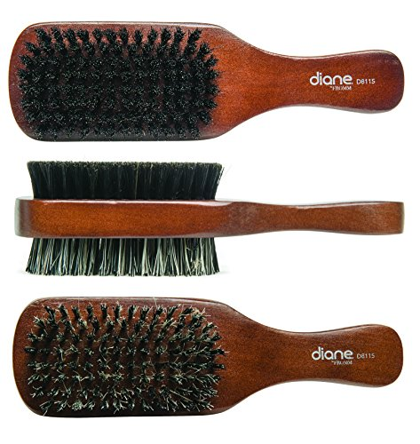 Diane 100% Boar 2-Sided Club Brush review