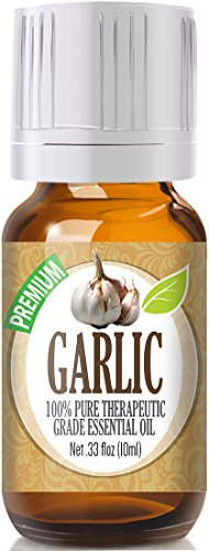 Garlic 100% Pure, Best Therapeutic Grade Essential Oil review