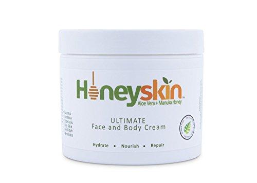 Honeyskin Organics Aloe Vera + Manuka Honey Face and Body Cream
