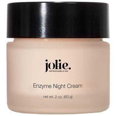 Jolie Papaya Enzyme Night Cream - Facial P.M. Moisturizer With Advanced Hydration