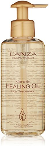 L\'ANZA Keratin Healing Oil Hair Treatment. review