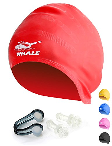 Large Swim Cap for Long Thick and Curly Hair Waterproof Silicone Swimming Caps review