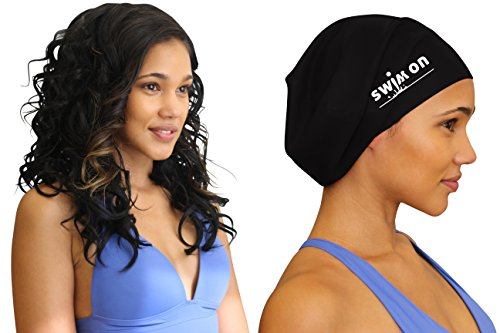 Large Swim Cap for Long, Thick, or Curly Hair by Swim On  review