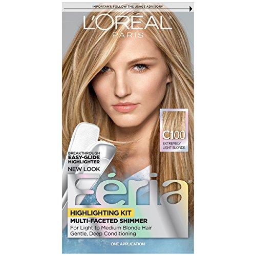 L\'Oréal Paris Feria Permanent Hair Color, C100 Star Lights Extreme