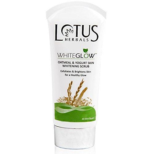 Lotus Herbals Oatmeal & Yogurt Skin Whitening Scrub