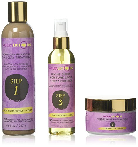 Naturalicious Hello Gorgeous Hair Care System for Tight Curls  review