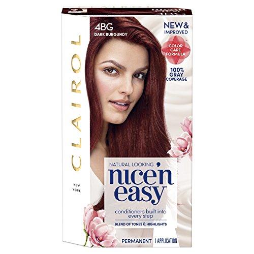 Nice \'N Easy Permanent Hair Color, 4Bg Dark Burgundy review