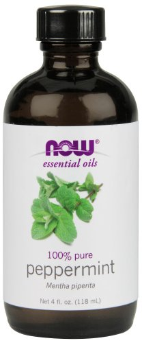 NOW Peppermint Essential Oil review