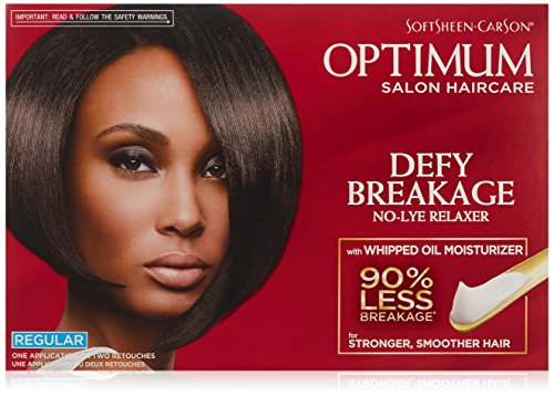 Optimum Care Defy Breakage No-lye Hair Relaxer Regular Strength review