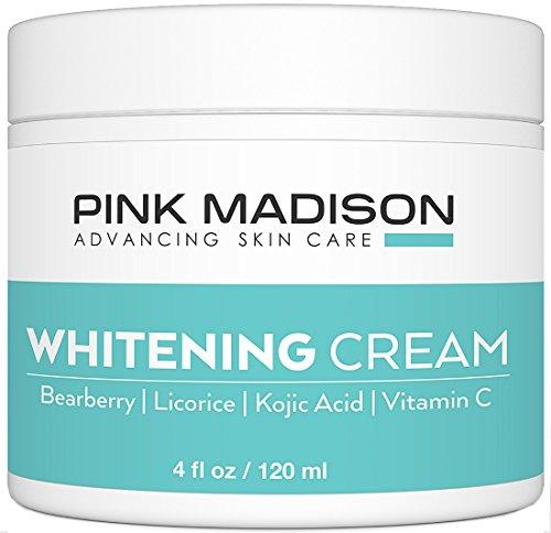 Pink Madison Skin Lightening Cream with Kojic Acid Vitamin C Hyaluronic Acid