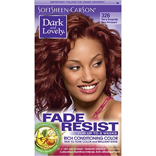 SoftSheen-Carson Dark and Lovely Fade Resist Rich Conditioning Color, Berry Burgundyi review