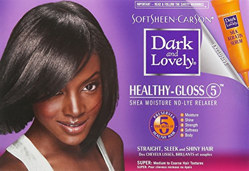 SoftSheen-Carson Dark and Lovely Healthy-Gloss 5 Shea Moisture No-Lye Relaxer review