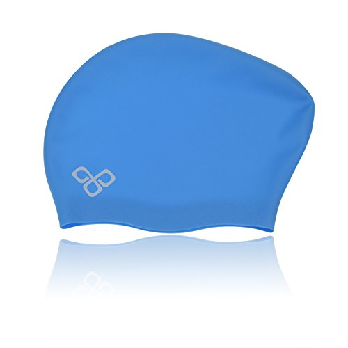 Waterproof Silicone Long Hair Swim Cap That keep Hair Dry by VITCHELO review