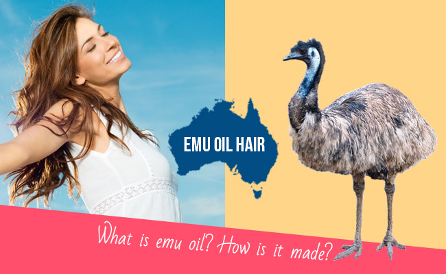Emu oil hair
