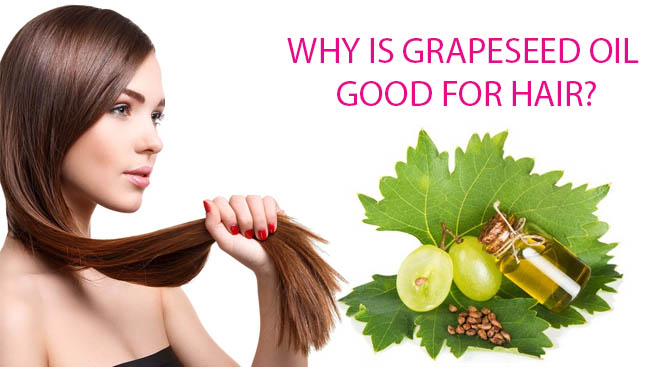 grapeseed oil good for hair