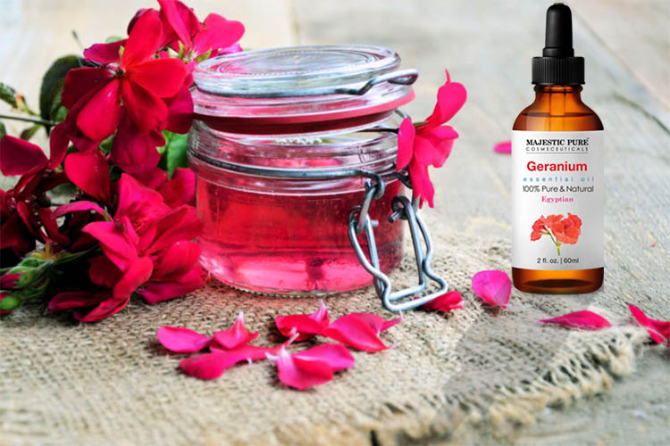 Geranium Oil-Good for Your Skin, Good for Your Hair