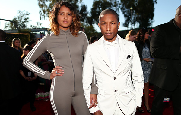 Pharrell Williams and Helen Lasichanh