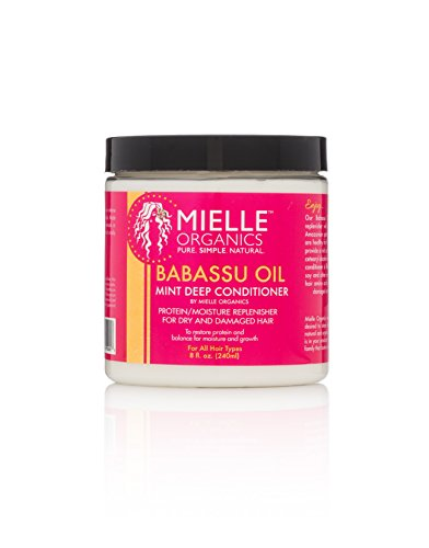 Babassu Oil and Mint Deep Conditioner review