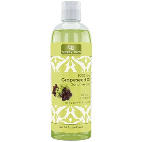 Beauty Aura 100% Pure Hexane Free Grapeseed Oil review