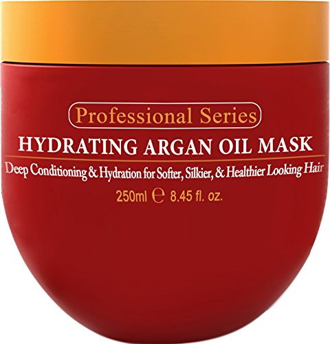 Hydrating Argan Oil Hair Mask and Deep Conditioner by Aravalli for Dry or Damaged Hair  review
