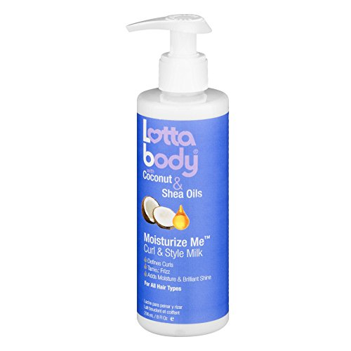 Lotta Body Coconut and Shea Oils Moisturize Me Curl and Style Milk review