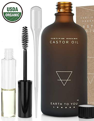 Organic Castor Oil (3.5oz) USDA Certified, Unrefined by Earth to You review